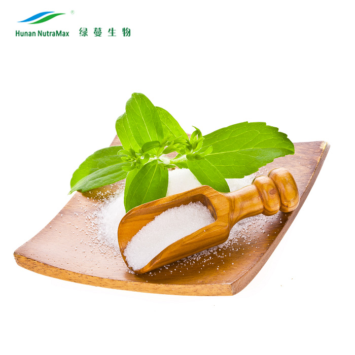 Natural Sweetener Stevia Extract Total Steviol Glycosides 90% In Bulk CAS 57817-89-7 with Best Quality