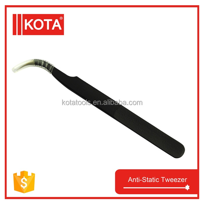 stainless steel anti static tweezer for computer repair tools