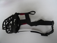 Dog mouth cover strap