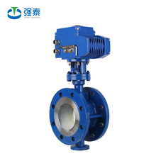 High performance stainless steel water flow control electric actuator ball valve