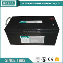 lead acid duration battery 12v 250ah with high performance used 12V250ah for inverter