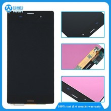 5.2 inch Screen For Sony Xperia Z3 L55t D6603 D6653 LCD Display with Frame Touch Digitizer Assembly Nano SIM