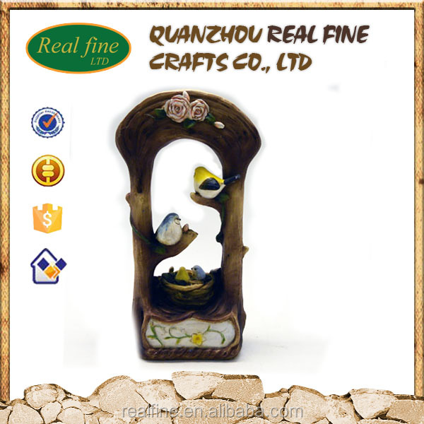 Factory price wholesale resin bird figurines