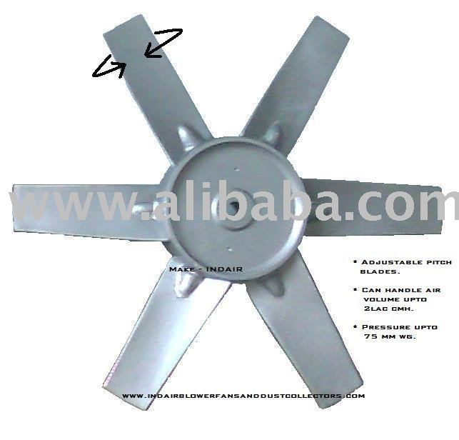 Adjustable blade impeller