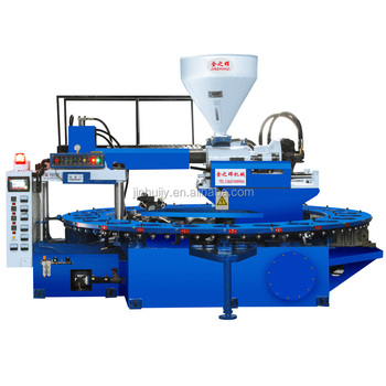Single color PVC air blowing and jelly slipper making machine
