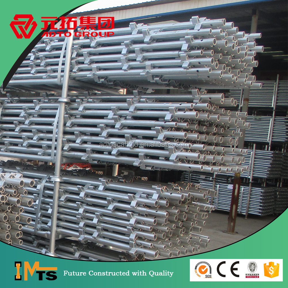 Civil housing Australia Galvanized kwik-stage scaffolding parts for construction safety