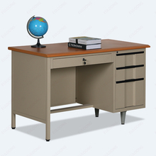 Durable Steel Modern Executive Desk High End Office Furniture Metal Frame Office Desk with Drawers