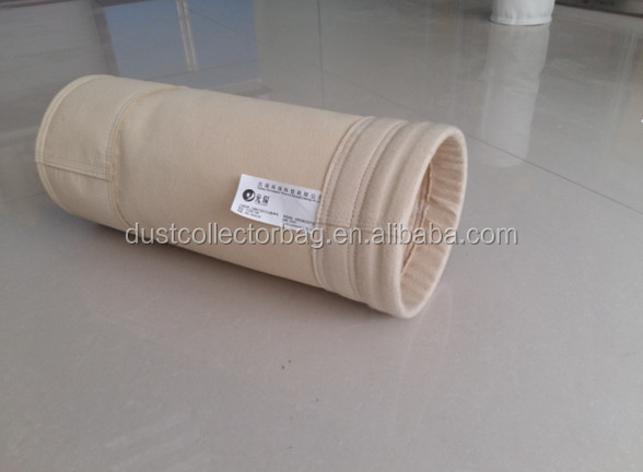 high temperature resistance nomex+ptfe filter bag