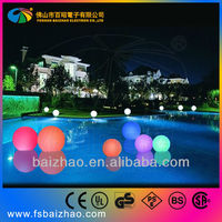 rechargeable waterproof led ball light