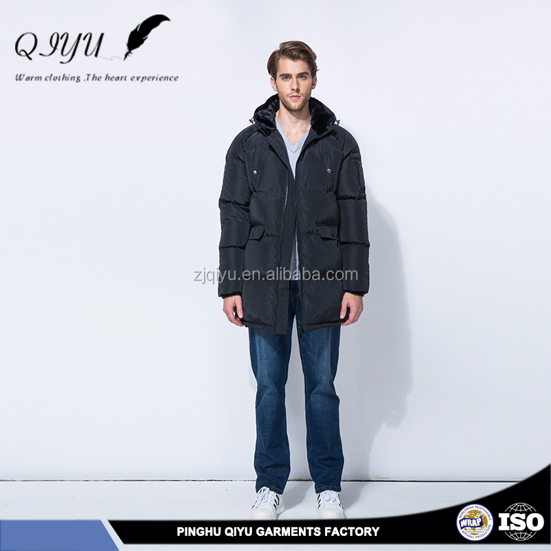 thick and solid textile and clothings down jacket for the winters