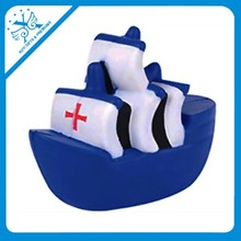 blue cargo ship stress relievers ambulance