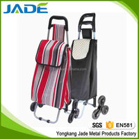 steel luggage cart 3 wheels airport shopping trolley steel hand trolley 3 wheels airside airport shopping trolley