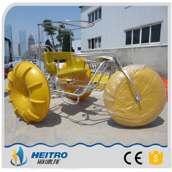 HEITRO CE Approved 2016 cheap adult entertainment three wheels bike water tricycle for sale