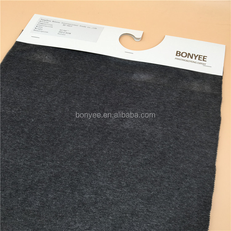 hot sale velvet fabric for making clothes