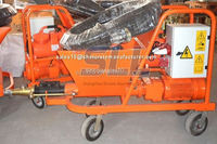 Skilled stuffs made great material used hot semi-automatic cement mortar spraying machine