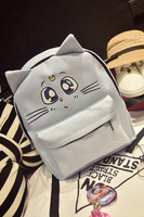 best selling Sailor Moon Canvas Material backpack for high school girls