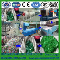 Beverage PET Bottle Recycling Machine// Drink PET bottles crushing washing recycle line