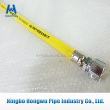 Hot sale flexible natural gas hose with fittings