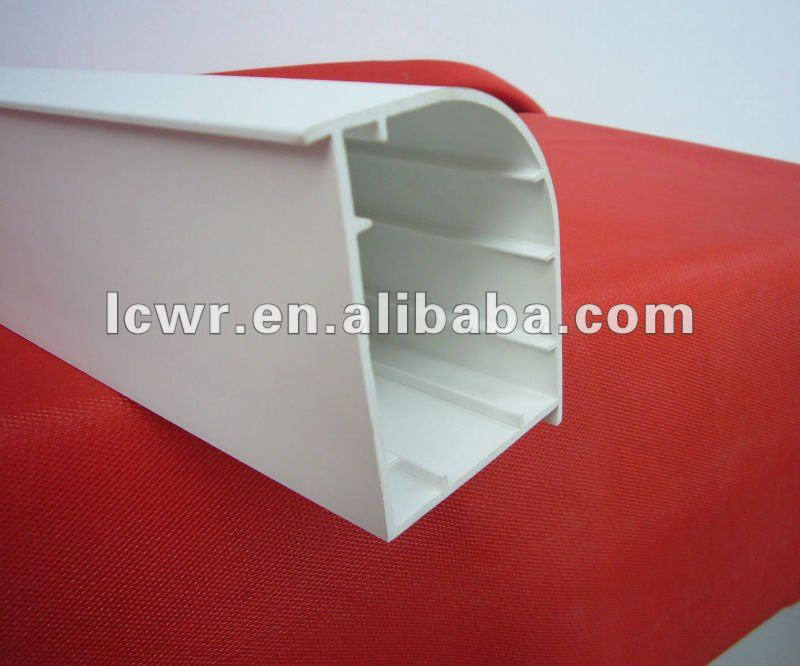 60 corner for window and door pvc profiles/pvc strech ceiling profile/pvc shutter profile