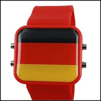 W0259 wholesale alibaba world cup country flag watch