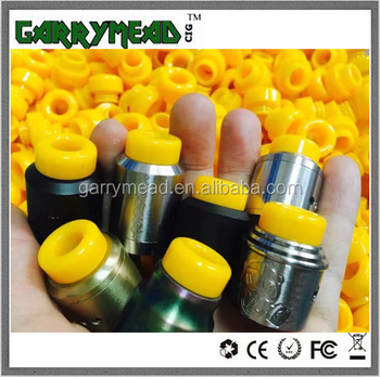 Hot sell yellows 810 drip tip Resin Drip Tip for TFV12/TFV8 drip tip Kennedy drip tip/Goon 528/Apocalypse GEN 2 Rda drip tip