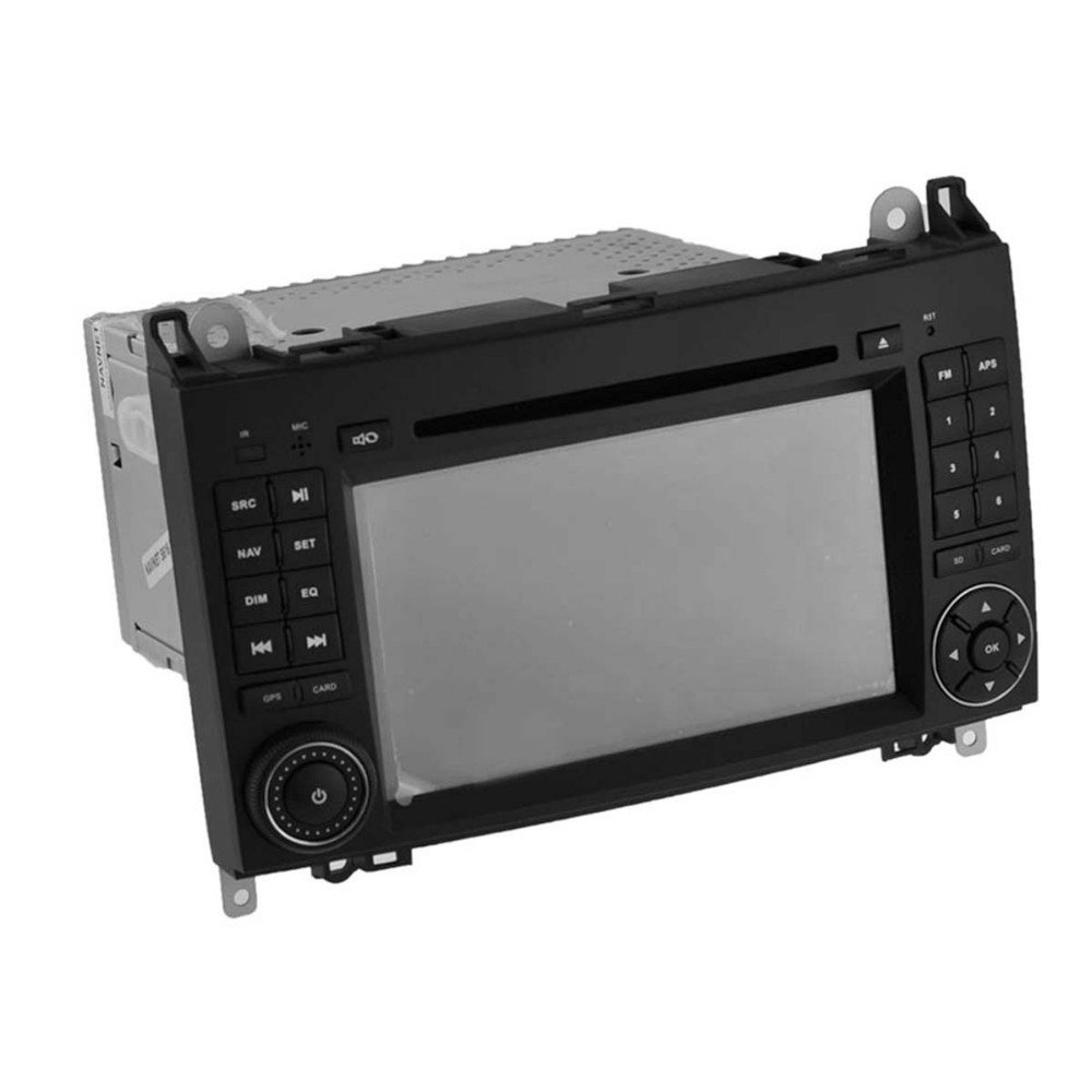 Quad Core 1024*600 Android 5.1.1 car dvd radio GPS navigation stereo for Mercedes B200 hot selling