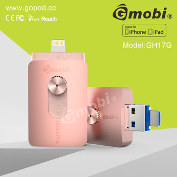 For iPhone First MFi approved mobile phone USB flash drive External Storage 16G 32G 64G 128G