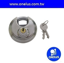 MIT cat cage stainless padlock for outdoors