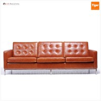 custom-design modern leather couch