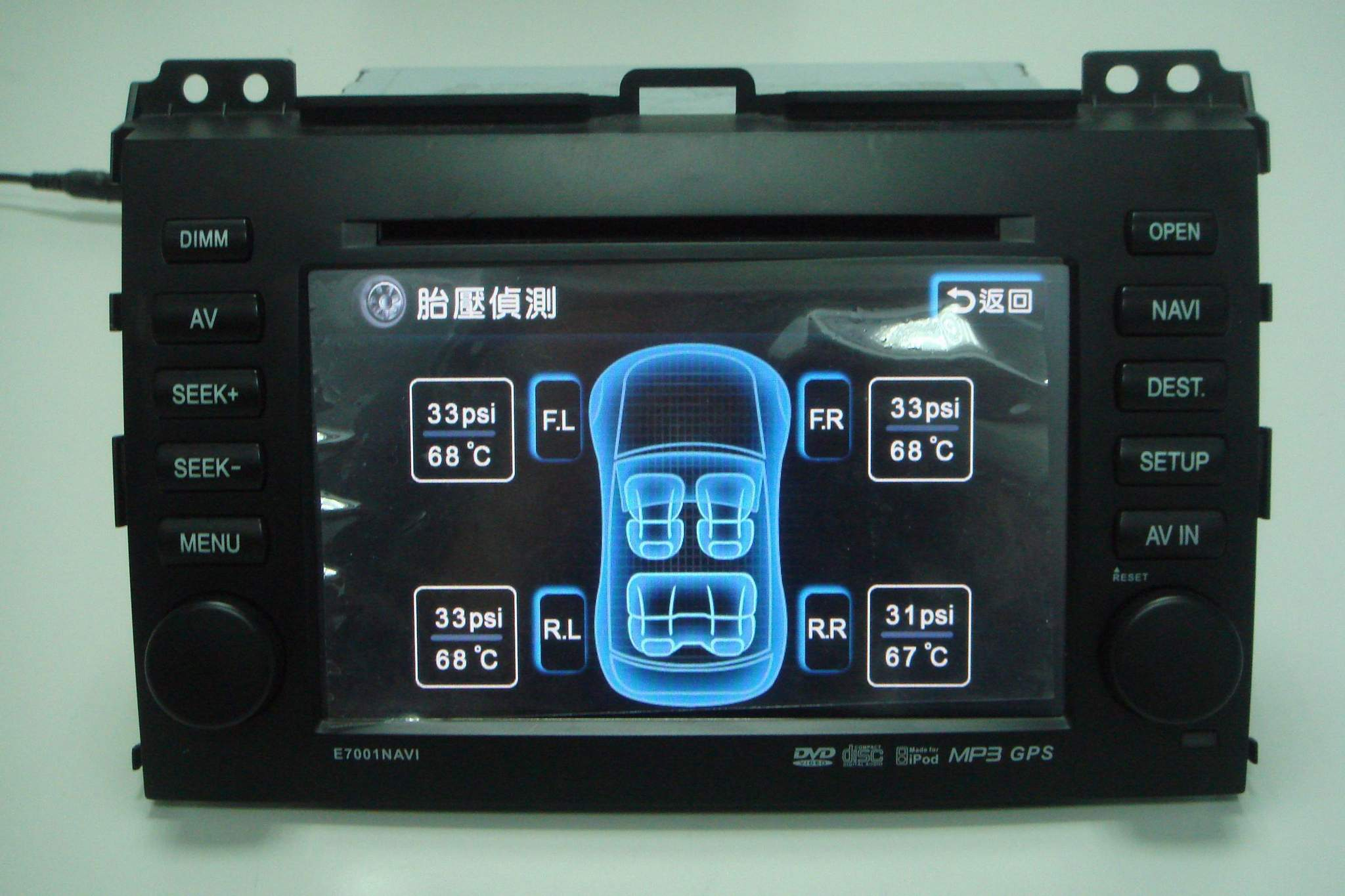 CAR AUDIO + Tire Pressure Monitoring System