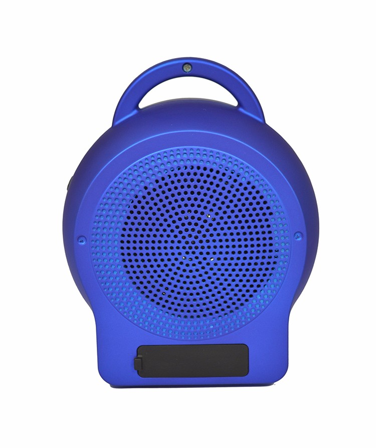 high quality portable stereo app control bluetooth speaker with Customizable service