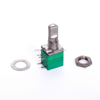 9mm b50k potentiometer with switch potenciometro 10k