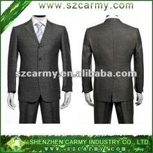 2014 fashion slim fit long sleeve single breasted turn-down collar formal business mens suits