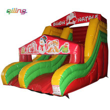 2017 Best selling christmas inflatable slide / jumping slide for sale / christmas inflatable slide bouncer