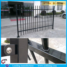 temporary fence stand/chrome fence/square steel fence posts
