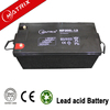 High capacity 200ah 12v solar power storage battery