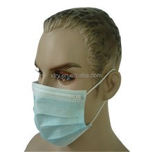 Clean equipment CE ISO 3ply dental clinic disposable face mask