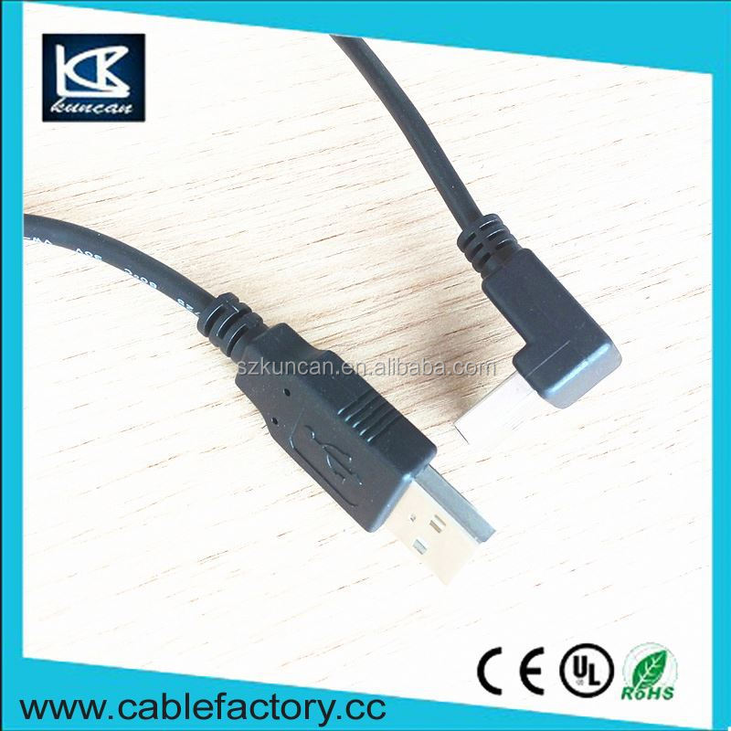 Goods from china usb cable awm 2725 24AWG/2C cable micro usb cable busk