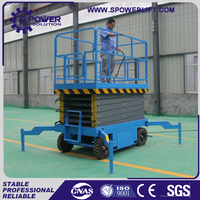 Made in China hydraulic mobile used car scissor lift for sale