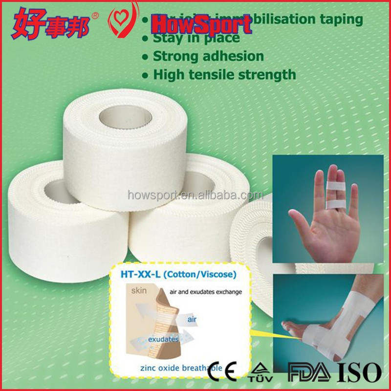 Jiaxing Grip Adhesive Injury Color Muscle Cotton Waterproof Strappal Sports Tape