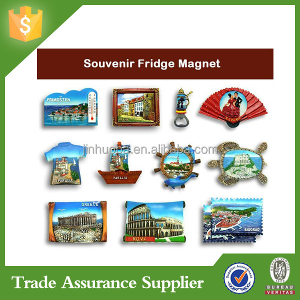 Personalized cheap fridge magnet tourist souvenir