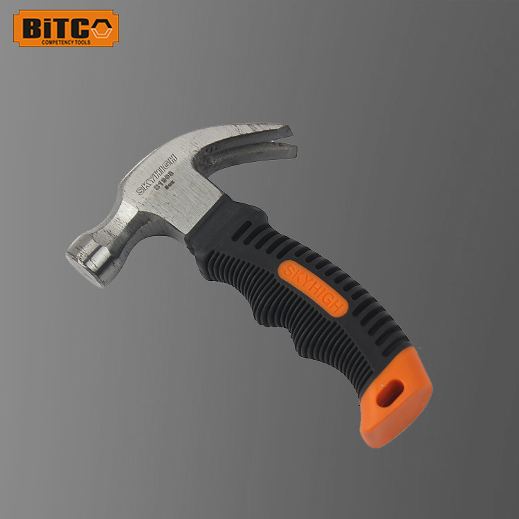 mini carbon steel claw hammer