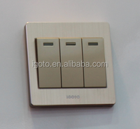wall british standard 3 gang 1 way wall luxury electrical wall switch
