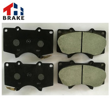 Brake pad manufacturing auto spare disc carbon fiber break pad for Germany car model