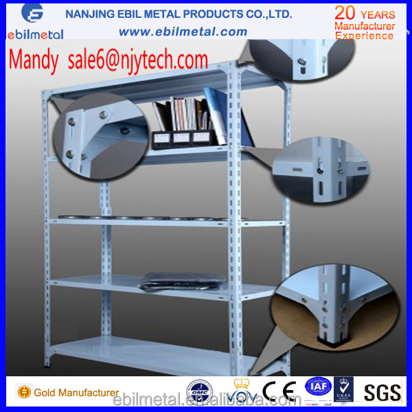 150kg/levels boltless/rivet shelving