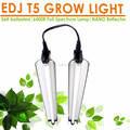 High output fluorescent complete full spectrum bar NANO Reflector daisy chain hydroponics t5 fixtures grow lights