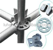 Q345 steel Layher allround ringlock scaffolding,used construction scaffolding