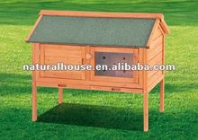 4FT single Wooden Rabbit Hutch