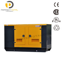 91.3kva Silent Diesel electric power generator with PERKINS engine