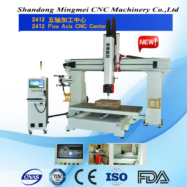 USA 5 axis cnc milling machine